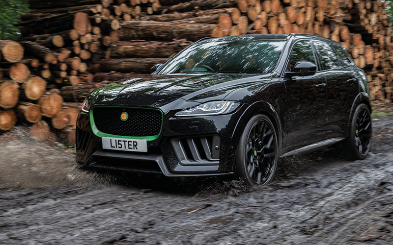 THE LISTER MOTOR COMPANY UNVEILS THE STEALTH – BRITAIN'S FASTEST AND MOST POWERFUL SUV